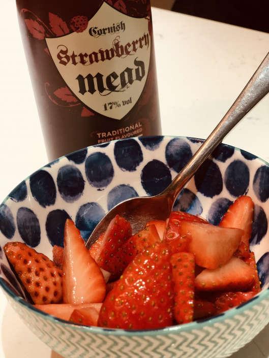 mead - strawberries